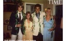 Foto Obama waktu SMA